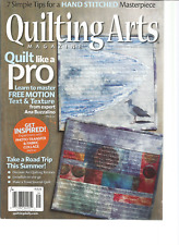 QUILTING ARTS Magazine #88 AUGUST/SEPTEMBER 2017, QUILT LIKE A PRO