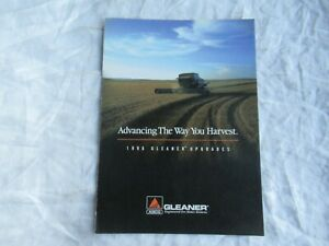 1996 AGCO Allis-Chalmers Gleaner combine upgrades brochure