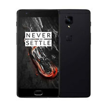 "OnePlus 3T A3003 128GB Black (Unlocked GSM) Android 4G LTE 5.5"" Smartphone GREAT"