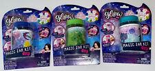 (SET OF 3) So Glow DIY GLITTER Magic Jar Kit, Ages 6+