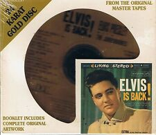Presley, Elvis is Back DCC Gold CD New Sealed No. 2295