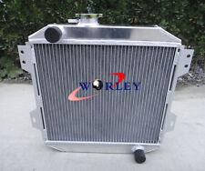 Aluminum Radiator For Ford Capri MK1 MK2 MK3 Kent 1.3L 1.6L/2.0 Essex/Escort 1.6