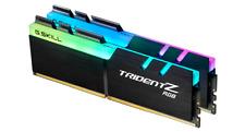 Memoria Ram G.Skill F4-3000C16D-16GTZR Trident Z RGB 16 Gb (2 x 8 Gb) DDR4 Negro