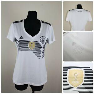 ADIDAS Women's LARGE Germany National Team 2014 FIFA Football Jersey / T-shirt