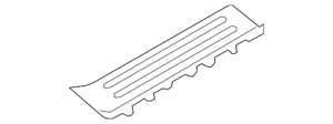 Genuine GM Front Sill Plate 19316830