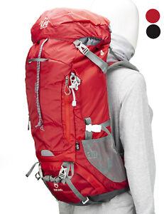 Trekkingrucksack 60l, Wanderrucksack, Backpacker, leicht, groß, wasserdicht