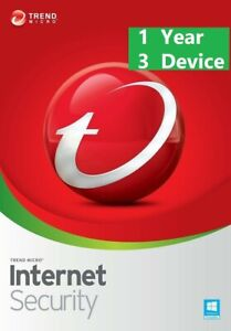 Trend Micro Antivirus Maximum Security 2021 Internet (3 Multi Device for 1 Year)