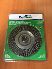"PRO STAR STRINGER BEAD KNOT WIRE WHEEL BRUSH PRS53018 4-7/8""/120mm 5/8"" - 11NC"