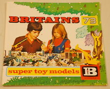 DTE ENGLAND BRITAINS TOY MODELS 1973 24 PAGE CATALOG ANIMAL MOTORCYCLES TRACTOR
