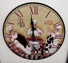 """New Chef 13"""" Wall Clock Fga 74530"""