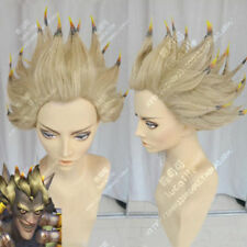 Junkrat Anime Game Ombre Costume Cosplay Wig +Track Number +Wig CAP