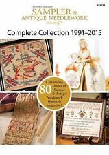 SAMPLER & ANTIQUE NEEDLEWORK QUARTERLY COLLECTION 1991-2015 - ANNIE'S (COR) - NE