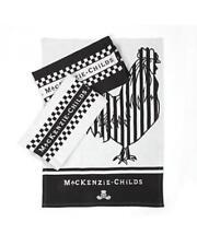 MacKenzie Childs Black & White Dish Towels # 40275-0128