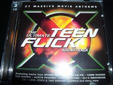 The Ultimate Teen Flick Soundtrack 2 CD REM Garbage Prodigy Ali G New Order Ash