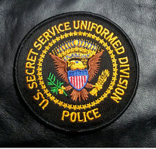 US SECRET SERVICE UNIFORM DIVISION POLICE IRON ON PATCH