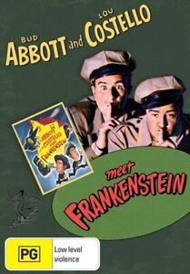 ABBOTT AND COSTELLO MEET FRANKENSTEIN DVD 1948 NEW Bud Lou RARE COMEDY