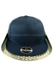 Chapeaux visières bleus pour homme