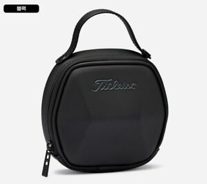 Titleist Large Ball Pouch TA21BPLK Black, White Color