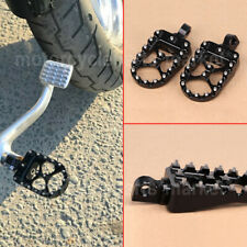 NEW FOR HARLEY DAVIDSON DYNA SPORTSTER BOBBER WIDE FAT FOOT PEGS MX STYLE