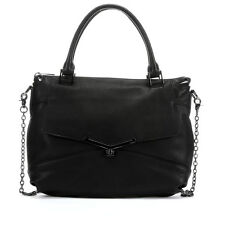 Botkier Large Valentina Black Leather Crossbody Tote bag - NEW with Tags