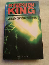 STEPHEN KING THE CUATRO AFTER MIDNIGHT BOOK COVER HARD 430 PAGS 1992