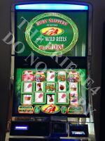 WMS WIZARD OF OZ RUBY SLIPPERS! OEM SoftwareBB2 Slot MachineWilliams Bluebird