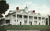 Postcard Washington's Home Mt. Vernon Washington DC