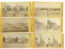 72 PHOTOS STEREO  vers 1875 / PARIS et VERSAILLES