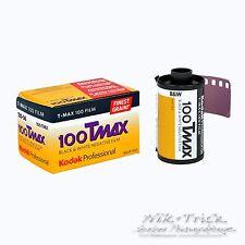 Kodak Tmax 100 35mm B&W Film ~ 36 Exp ~ Freshest UK Stock
