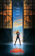 """Captain Marvel ( 11"""" x 17"""" ) Movie Collector's Poster Print - B2G1F"""