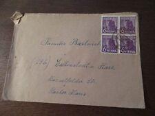4er Block 6 Pfennig Deutsche Post Kontrollat 1947 Aliierte Besatzung Iserlohn