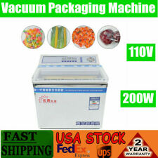200w Vacuum Chamber Sealer Food Sealing Machine Commercial Packing Chamber Equip