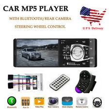 """4.1""""HD 1DIN Car Radio Stereo BT MP3/MP4 Player Wheel Control FM/USB/TF/EQ"""