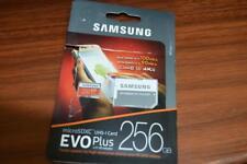 Samsung EVO Plus 256GB MicroSDXC UHS-I Card 4K Ultra HD With SD adapter