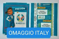 1X PACKET PANINI UEFA EURO 2020 PREVIEW OMAGGIO ITALY POCHETTE BUSTINA TÜTE PACK