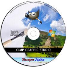 Software in inglese per grafica, video e suono CD