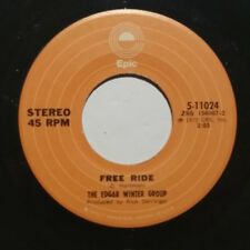 The Edgar Winter Group ‎/ Free Ride (Vinyl Single, used)
