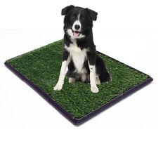 "30""x20"" Puppy Pet Potty Training Pee Indoor Toilet Dog Grass Pad Mat Turf Patch"