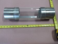 """4"""" stainless steel & acrylic pipe sight glass, for pipe process equipment"""