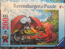 Dueling Dragons 200 Piece Jigsaw Puzzle Ages 7+ by Ravensburger
