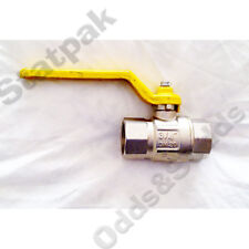 """GAS 3/4"""" (20mm), BALL VALVE, F TO F (40209)"""