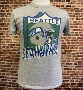 Vintage 80's SEATTLE SEAHAWKS Men's T-Shirt Unisex Cotton Vintage Reprint TK1744