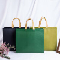 Foldable Large Shopping Bag Multicolor Reusable Storage Bag Tote Pouch Pocket