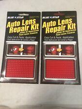 Blue Star 662 Auto Lens Repair Kit Red Textured