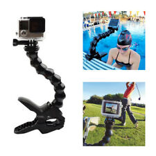 Jaws Flex Clamp Mount + Adjustable Neck For Gopro Hero 3 2 Camera Accessories DY