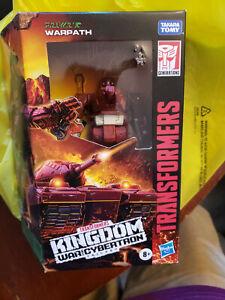 Transformers Kingdom WARPATH War for Cybertron Deluxe Minibot G1 -Ready 2 Ship!