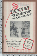 B772 Dental Students Magazine Frederick F. Molt Chicago University of Pittsburgh