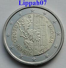 Finland speciale 2 euro 2016 Georg Henrik von Wright UNC