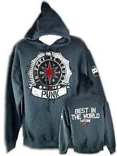 In CM Punk We Trust Gray Pullover Hoody Sweatshirt