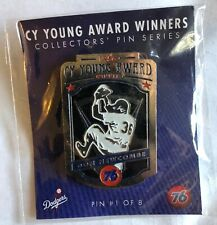 Dodgers Don Newcombe Cy Young Collectors' Pin 2015 SGA (unopened)